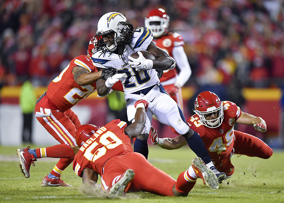 Los Angeles Chargers's Melvin Gordon