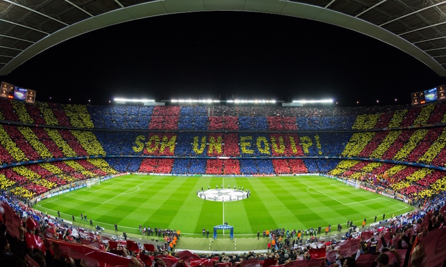 camp nou stadium spain