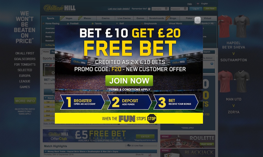 free bet for matched betting