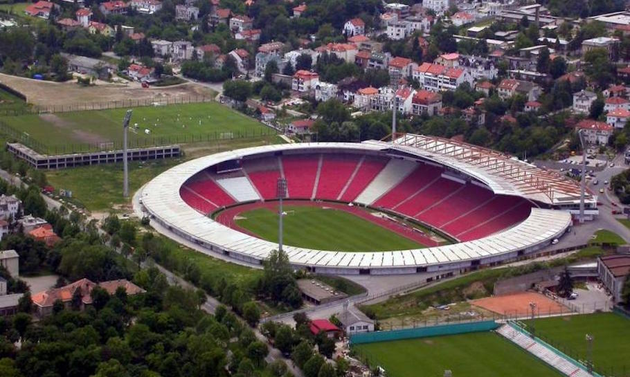 red star stadium serbia