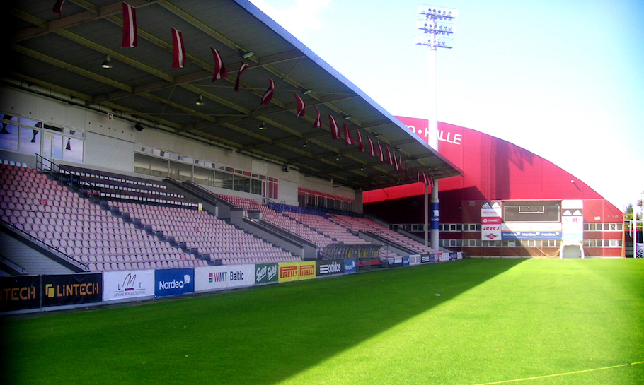 Skonto Stadium Latvia