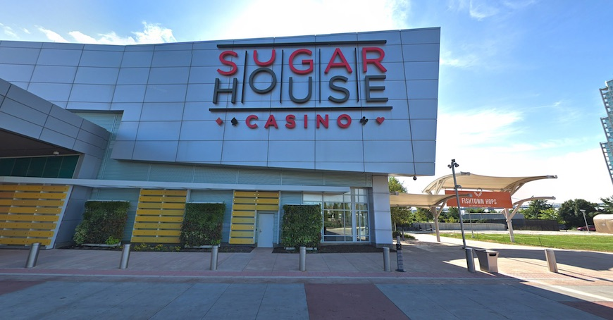 The exterior of SugarHouse Casino in Pennsylvania