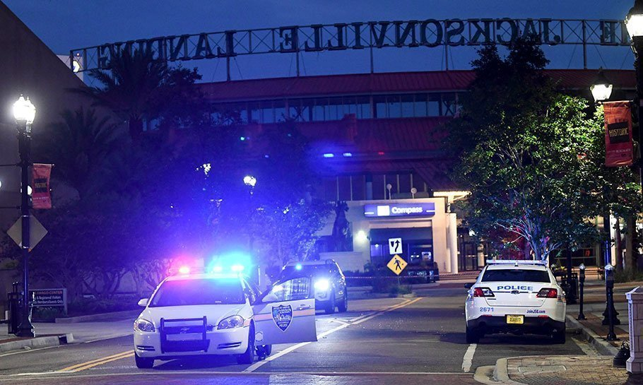 jacksonville shooting how did the nfl react