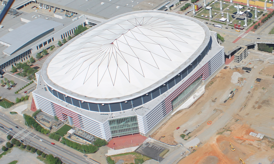 Super Bowl locations - Mercedes-Benz Stadium in Atlanta, Georgia