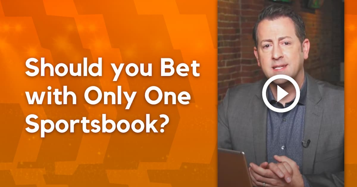 Betting on Only One Sportsbook