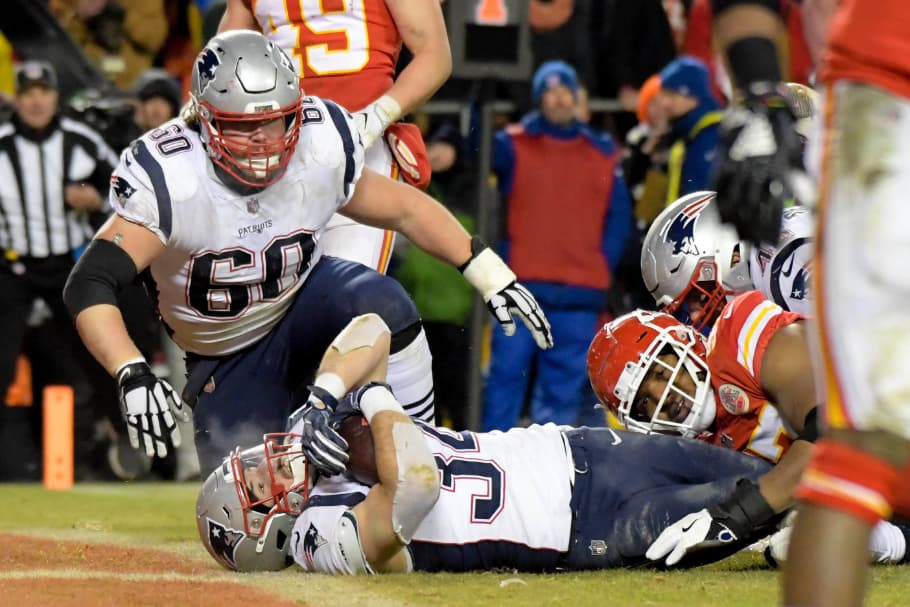 NFL Overtime Win by The Patriots
