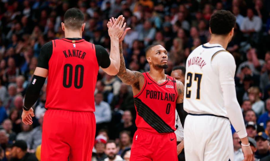 Denver Nuggets vs Portland Trail Blazers