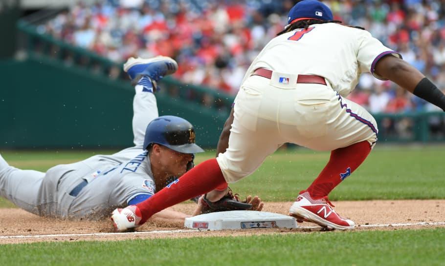 Philadelphia Phillies vs Los Angeles Dodgers