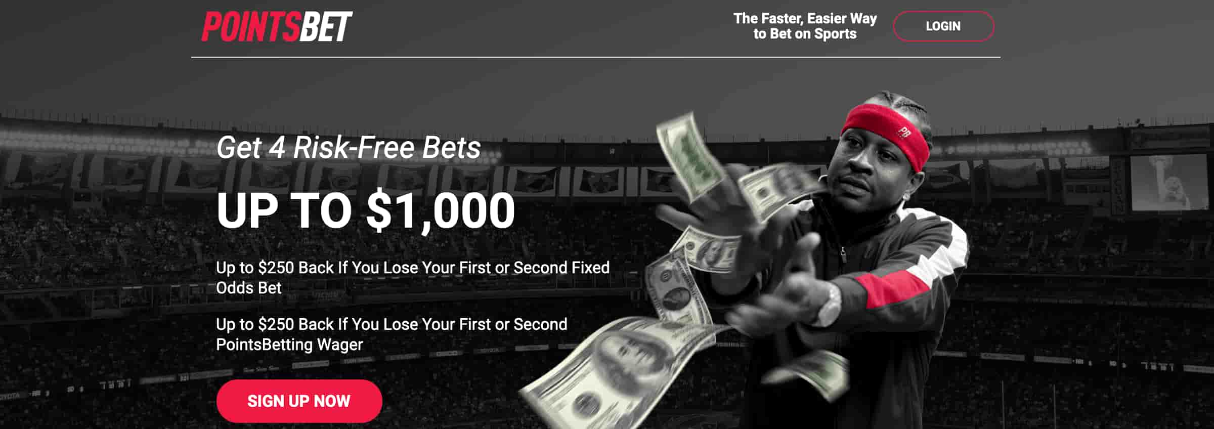PointsBet Signup Bonus