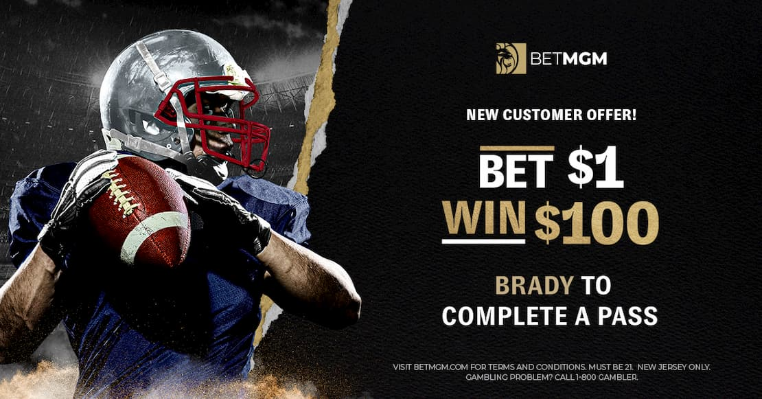 BetMGM Promotion Tom Brady