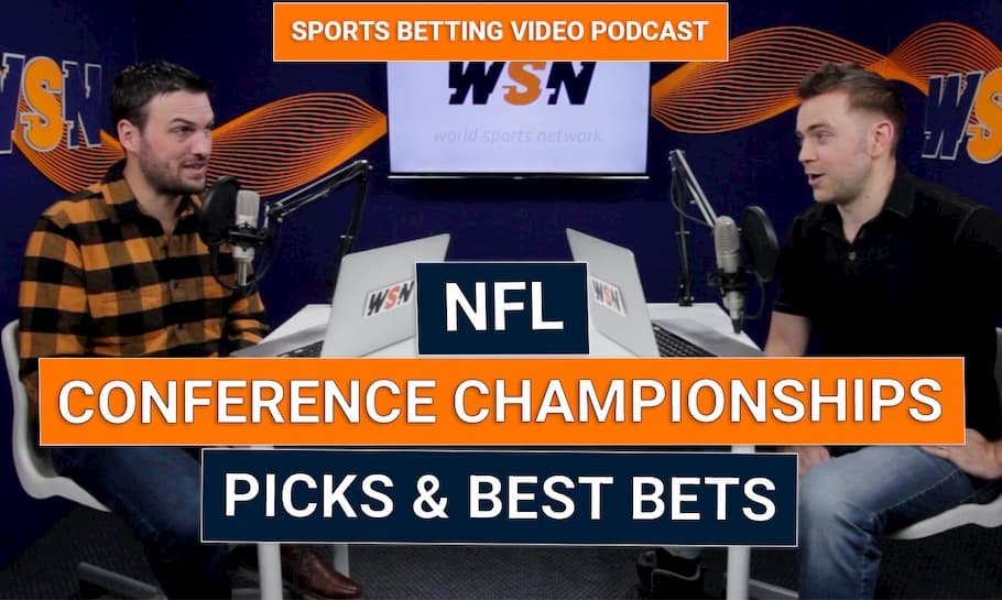 NFL Conference Championship Picks & Best Bets (w/The Green Men)