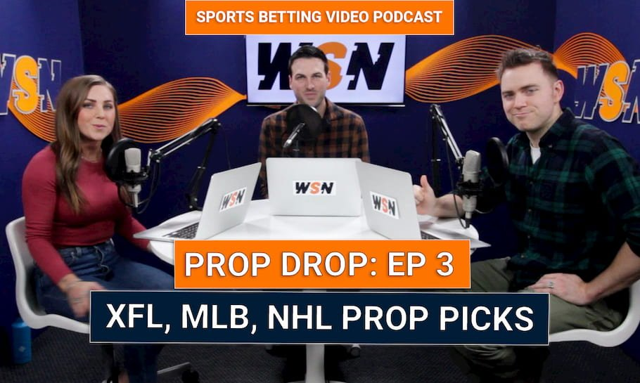 WSN Prop Drop (Ep. 3) – Best Prop Bets & Highlights XFL, NFL, NBA, PGA, ATP