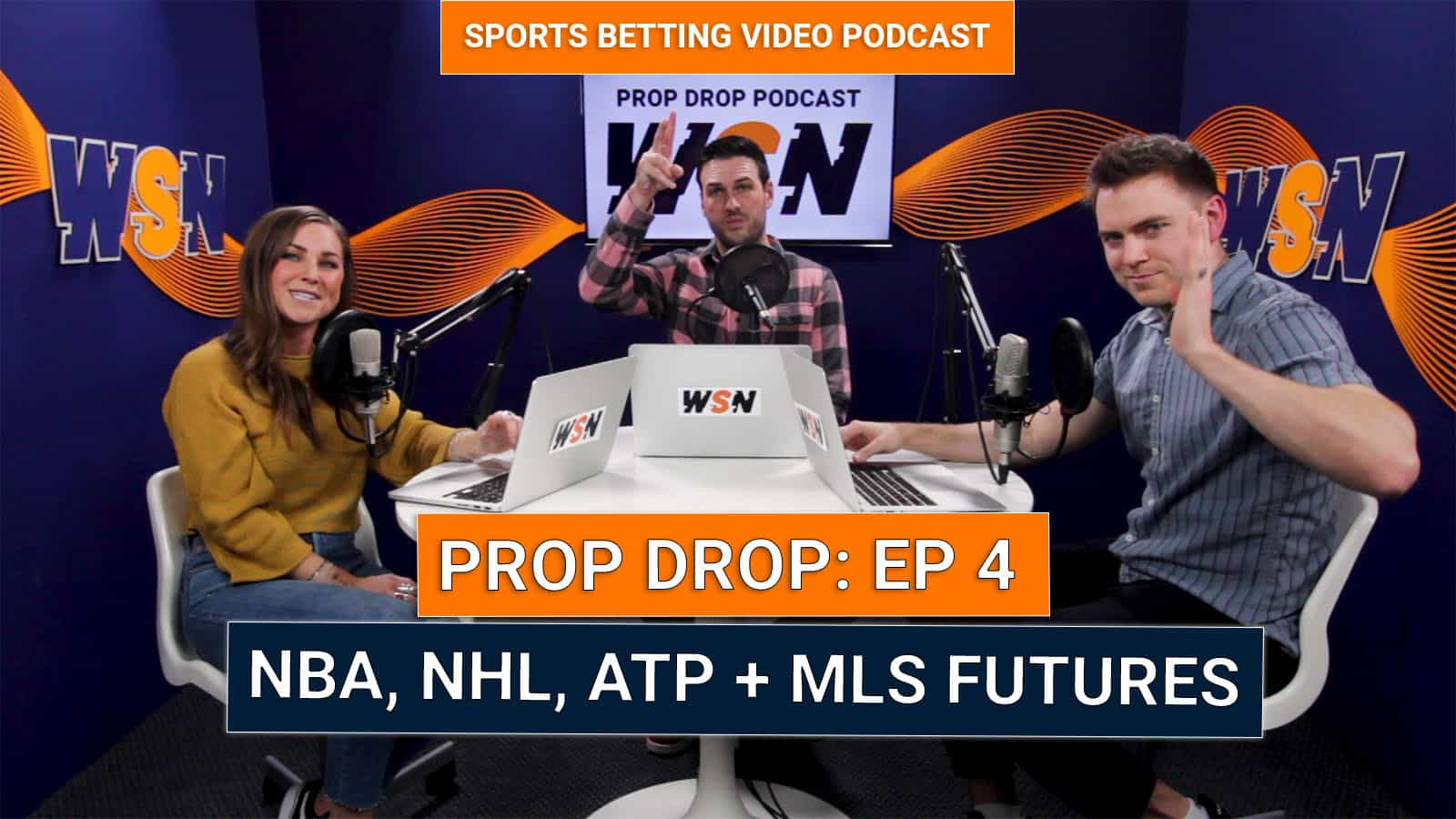 WSN Prop Drop (Ep. 4) – Best Prop Bets & Highlights ATP, NBA, ATP, XFL