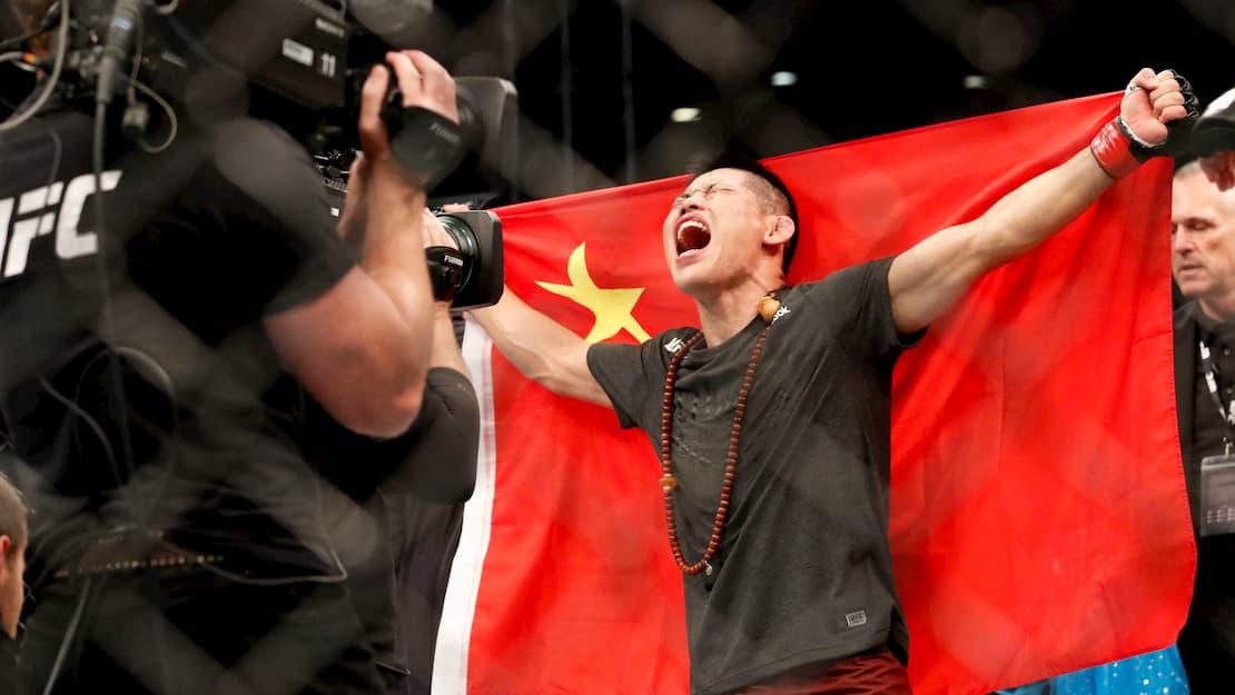 Neil Magny vs Li Jingliang