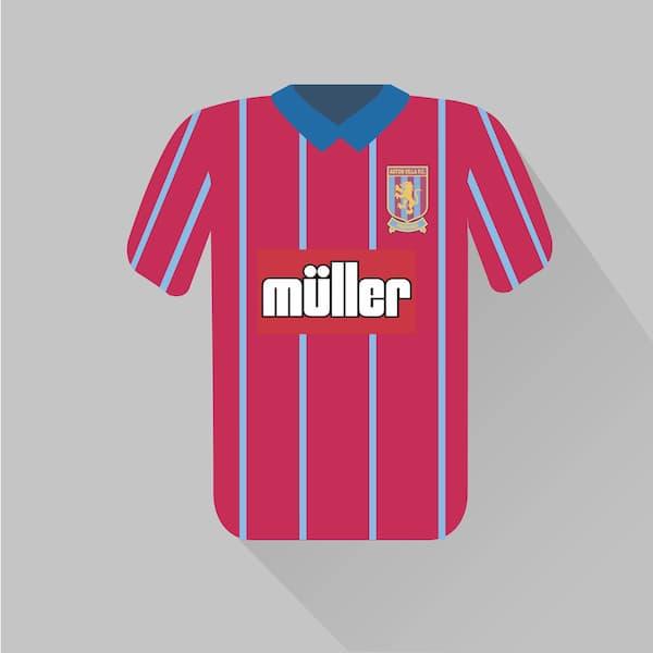 Aston Villa home jersey 1993-94
