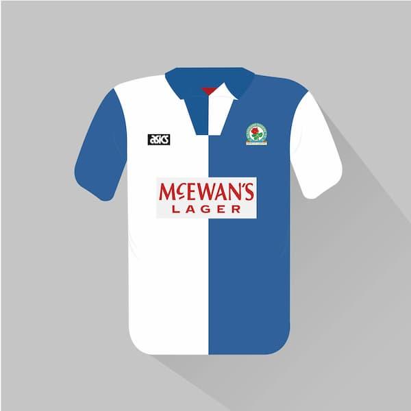 Blackburn Rovers home jersey 1994-95