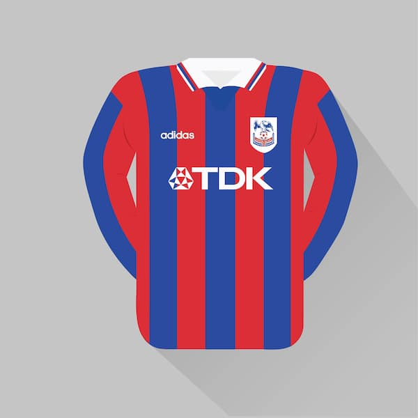 Crystal Palace home jersey 1997-98