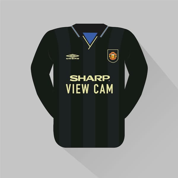 Man United away jersey 1993-94