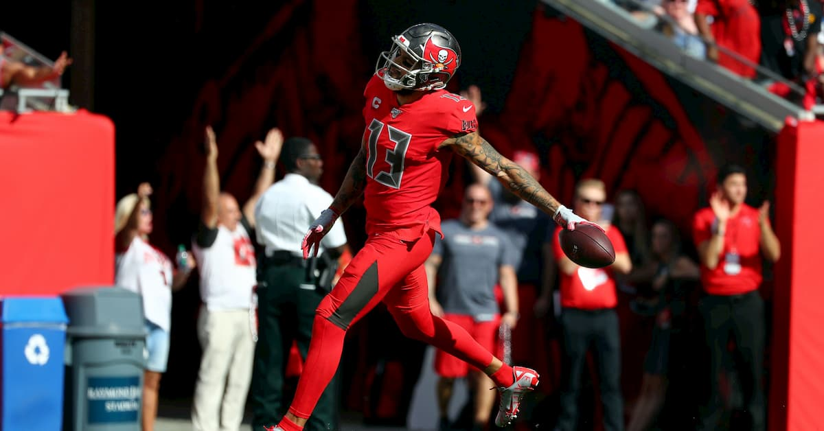Mike Evans 2020 Receiving Yards - Odds & Predictions