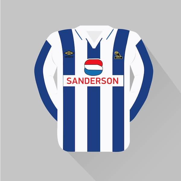 Sheffield Wednesday home jersey 1992-93