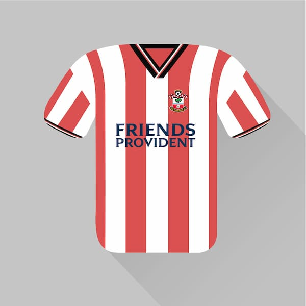 Southampton home jersey 2001-02