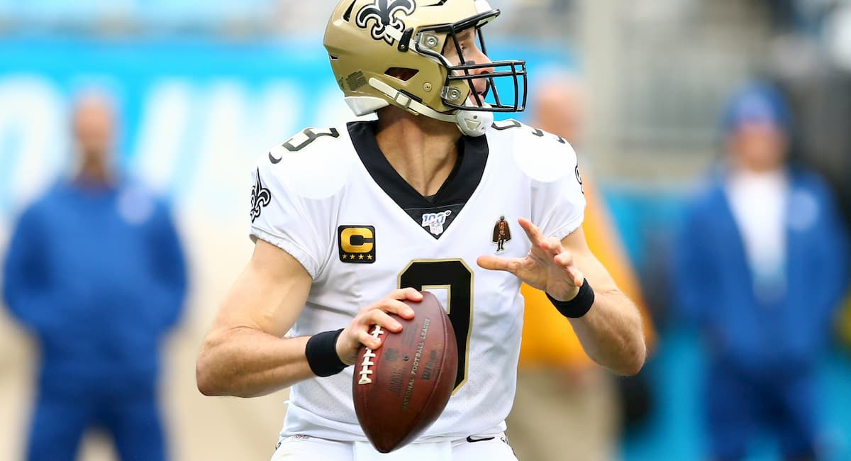 Drew Brees Passing Yards and Touchdowns