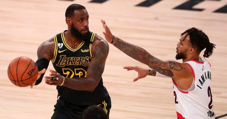 Portland Trail Blazers Vs La Lakers Game 5 Predictions Odds Picks