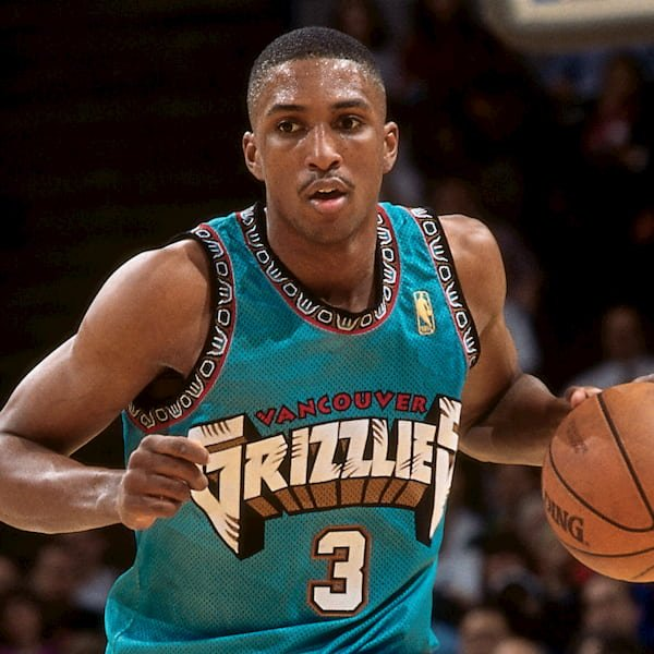 Vancouver Grizzlies, Away Jersey 1995-2000 2019-2020