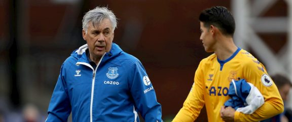 James Rodriguez and Carlo Ancelotti Make Everton Fans Dream of European Soccer