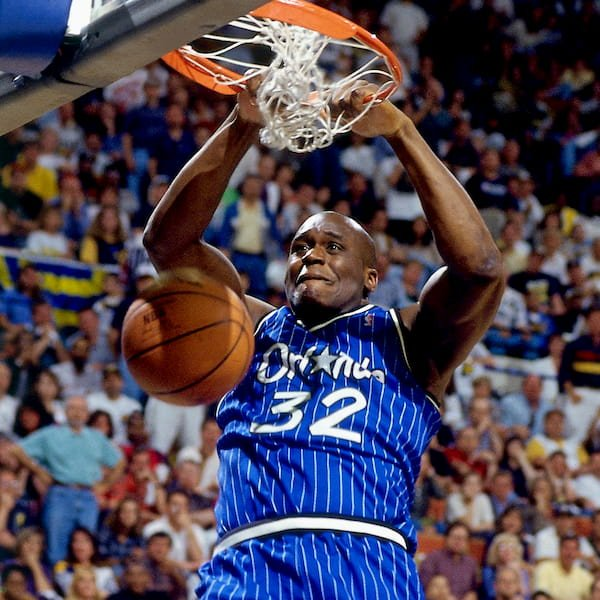 Orlando Magic Blue Pinstripes 1994-1998