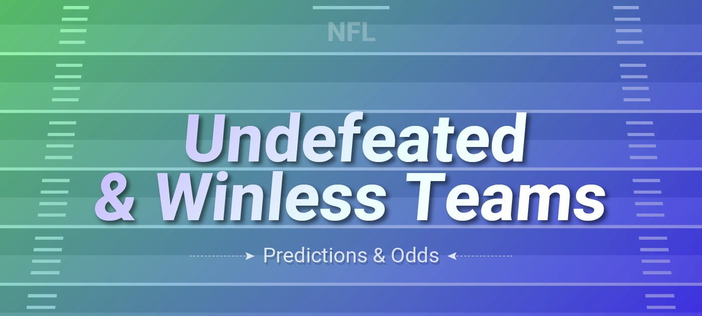 NFL Undefeated and Winless Teams