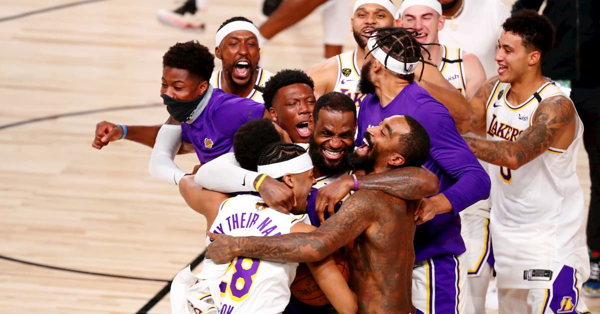 The Lakers Are Favoured To Be Repeat Champions In 2021