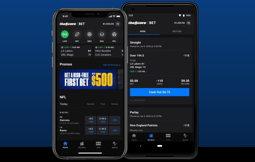 TheScore Bet App