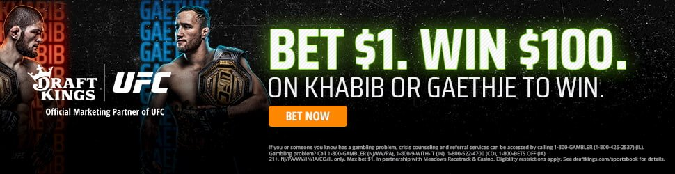 UFC 254 Promotion DraftKings