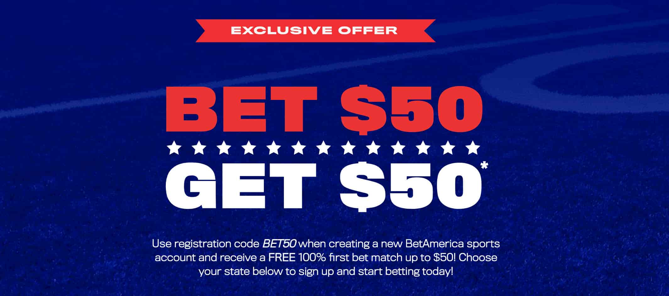 BetAmerica Sign Up Promotion