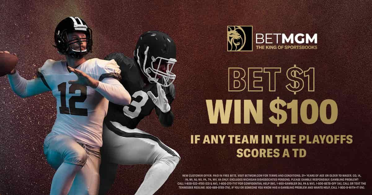 BetMGM NFL Playoffs Bonus