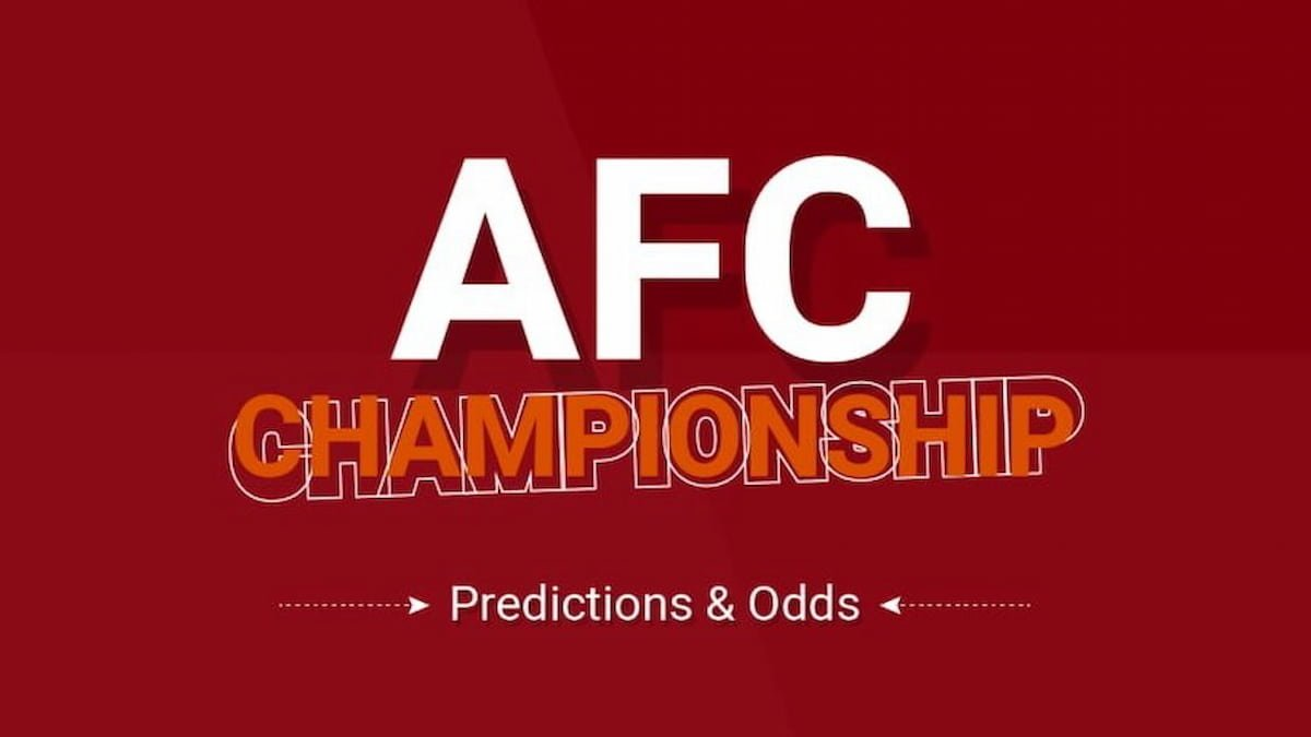 AFC Championship Predictions & Odds 2021/2022