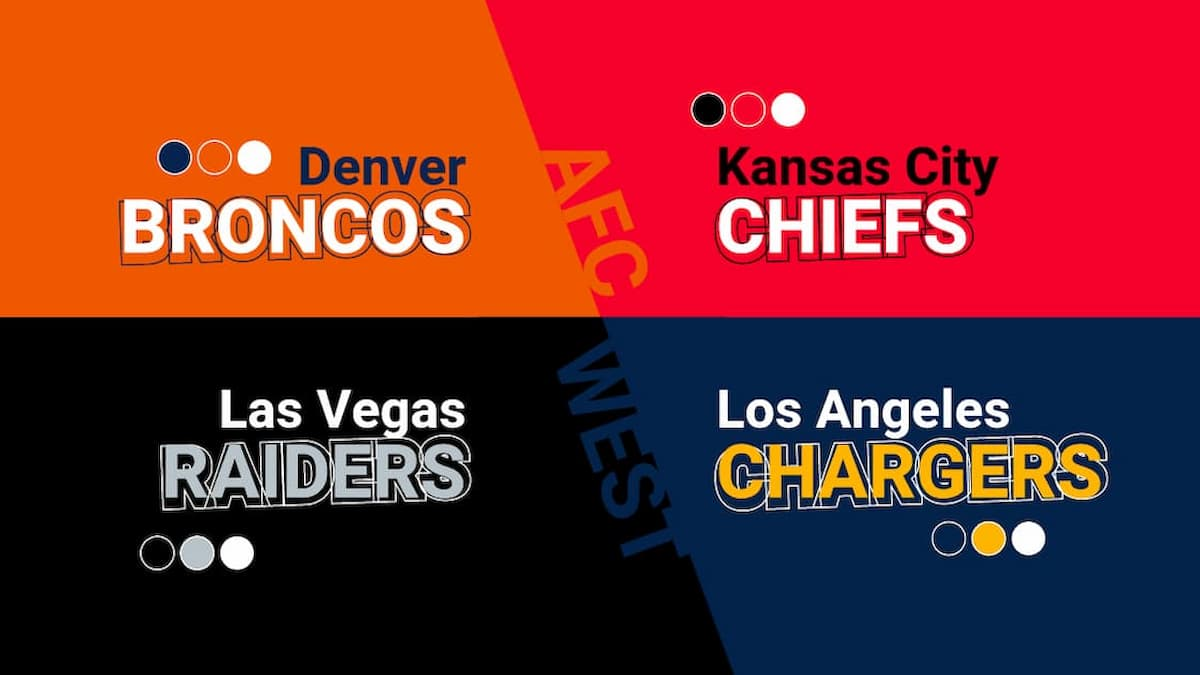 AFC West Predictions, Odds & Projections 2021/2022
