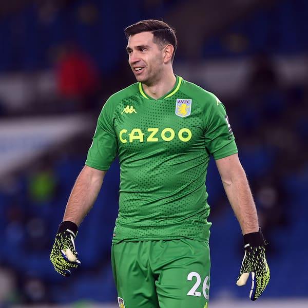 GK: Emiliano Martinez (Aston Villa)