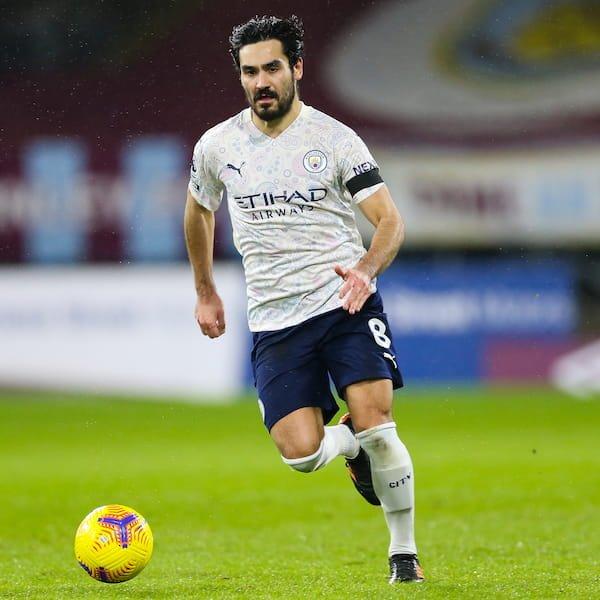 MF: Ilkay Gundogan (Manchester City)