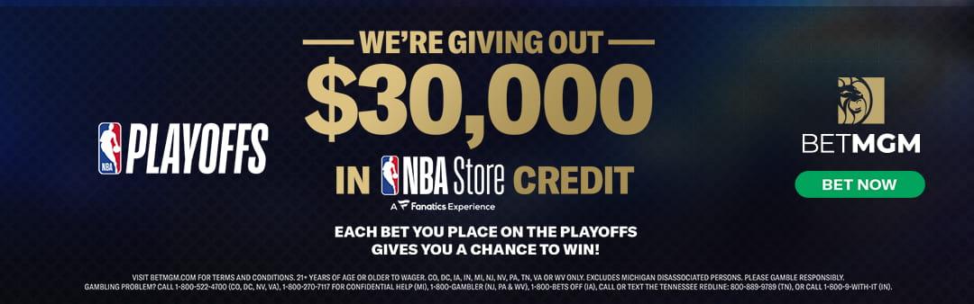 BetMGM NBA Store Credit Promotion