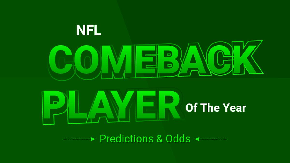 NFL Comeback Player of the Year 2021 Predictions, Odds & Picks