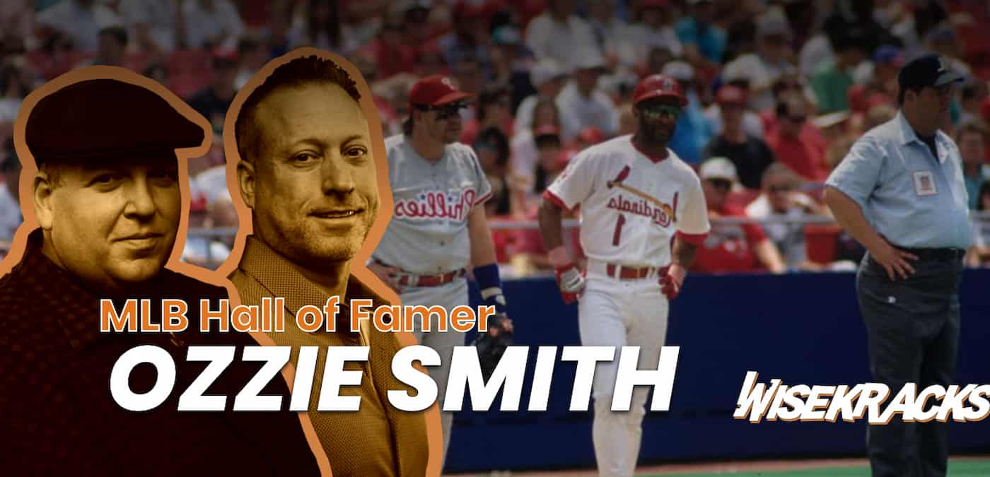 Ozzie Smith Talks Changes in MLB, Backflips and Cardinals Stories (Wise Kracks Ep. 49)
