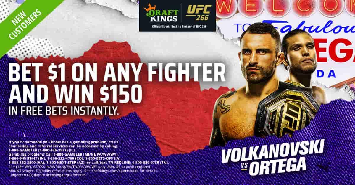 UFC 266 Promotion