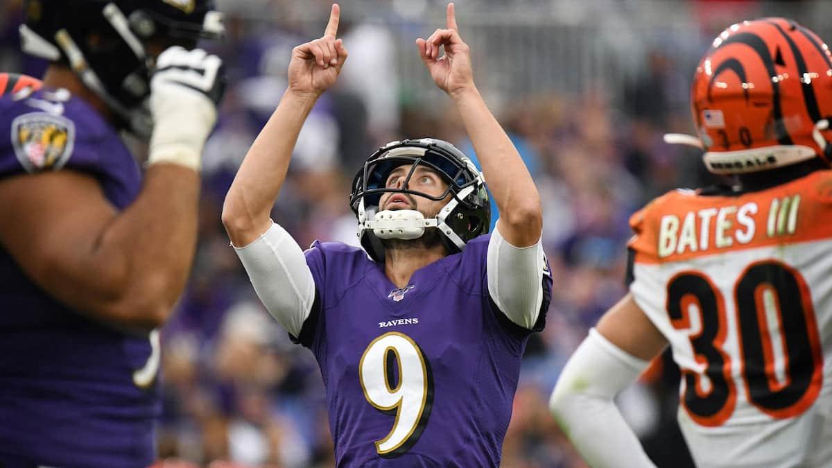 Justin Tucker Baltimore Ravens